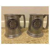 Vintage Wilton Wyoming Armetale Mugs