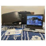 Acer Laptop with 2 Cases and Folding Stand
