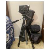 Sony Handycam with Tripod and Cases