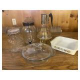 Retro Glass Kitchenware