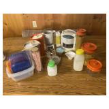Assorted Kitchen Lot/ Presto Tater Teister, Black