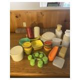 Large Lot of  Retro Plastic Kitchenware