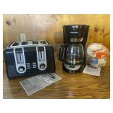 Black and Decker Coffee Pot and Toaster
