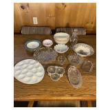 Vintage Assorted Kitchen Glass