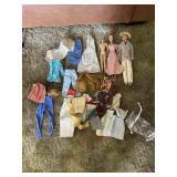 "Vintage ""Midge""(Barbie) 1958 and Clothes"