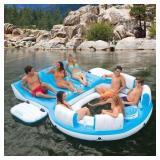 Intex Relaxation Island Lounge 6-Person Raft (#18)