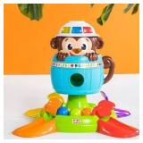 Bright Starts Hide n Spin Monkey Musical Toy (#71)