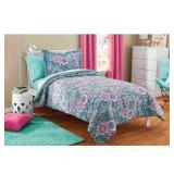Mainstays Kids Floral Medallion Bedding Set (#79)