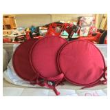 Red Stool Cushions (#21)