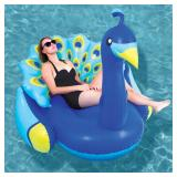 Giant Inflatable Peacock Pool Float (#22)