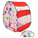 Pop-Up Polka Dot Kids Play Tent (#184)