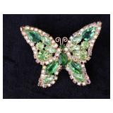 Weiss Butterfly Pin