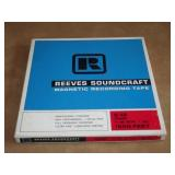 Reeves Soundcraft MagneticRecording Tape Reel