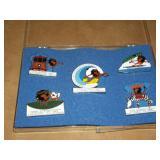 Five 1999 Lions Pins