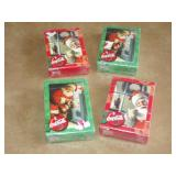 Coca Cola Playing Cards 4 Sets (Sealed)