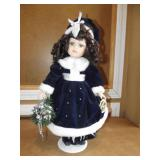 """Collectable Memories 17"""" Porcelain Doll"""