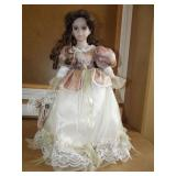 The Grannyville House Collection Prcelain Doll  1d