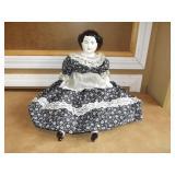 "Vintage Simmons Ceramic 1975 Kentucky Doll 21"""