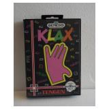 """Sega Genesis """"KLAX"""" 16-Bit Video Game"""