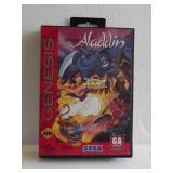"Sega Genesis ""ALADDIN"" Video Game"