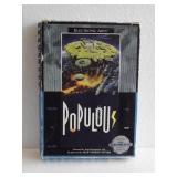 """Sega Genesis """"POPULOUS"""" 16-Bit Video Game"""