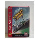 """Sega Genesis """"COMBAT CARS"""" 16-Bit Video Game"""