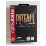"Sega Genesis ""PITFALL THE MAYAN ADVENTURE"" 16-Bit"