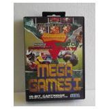 """Sega Genesis """"MEGA GAMES I"""" 16-Bit Video Game"""