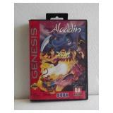 "Sega Genesis ""ALADDIN"" 16-Bit Video Game"