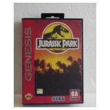 """Sega Genesis """"JURASSIC PARK"""" 16-Bit Video Game"""