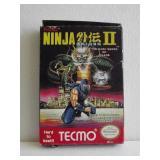 """Nintendo NES """"NINJA GAIDEN II"""" Video Game"""