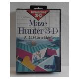 "Sega Scope 3-D ""MAZE HUNTER 3-D"""