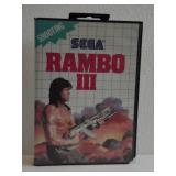 """Sega  """"RAMBO III"""""""