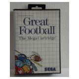 "Sega The Mega Cartridge ""GREAT FOOTBALL"""