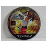 PS2 Naruto Ultimate Ninja 2 (Minor Surface