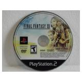 PS2 Final Fantasy XII (Minor Surface Scratches)