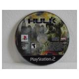 PS2 The Incredible Hulk (Minor Surface Scratches)