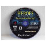 PS2 Heroes Of Might And Magic-Quest For The
