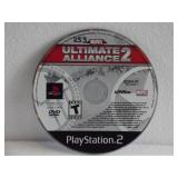 PS2 Marvel Ultimate Alliance 2 (has some writing