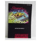 Super Game Boy - Super Nintendo Instruction Book