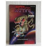 Super R-Type - Super Nintendo Instruction Booklet