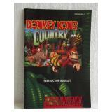 Donkey Kong Country - Super Nintendo Instruction