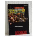 Donkey Kong Country 2 - Super Nintendo Instruction