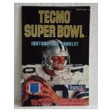 Temco Super Bowl - Super Nintendo Instruction Book
