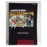 Super Mario All Stars - Super Nintendo Instruction