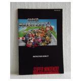 Super Mario Kart - Super Nintendo Instruction Book