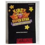 Kirby Super Star - Super Nintendo Instruction Book