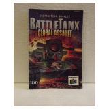 Battle Tank Global Assault - N64 Instruction Book
