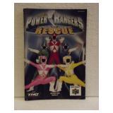 Power Rangers Lightspeed Rescue - N64 Manual