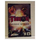 Turok Rage Wars - N64 Instruction Booklet